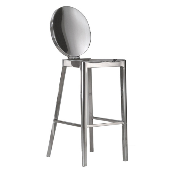 Stainless steel kong bar stools