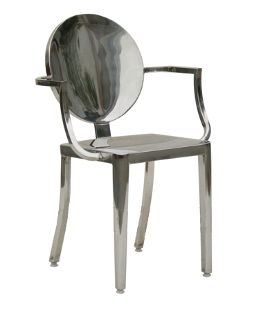 Stainles Steel Arm Chair