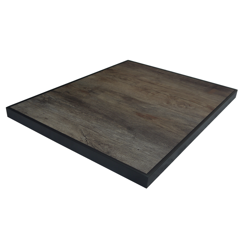 Outdoor HPL Antique wood table top